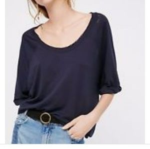 NWT Free People Moonlight Tee